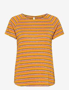 NUBUNTY T-SHIRT - t-shirts - buckthorn brown