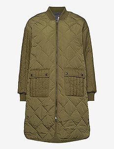 NUBISISU JACKET - steppjacken - m. olive