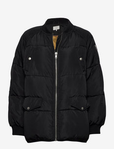 NUBELLE SH. JACKET - down- & padded jackets - caviar