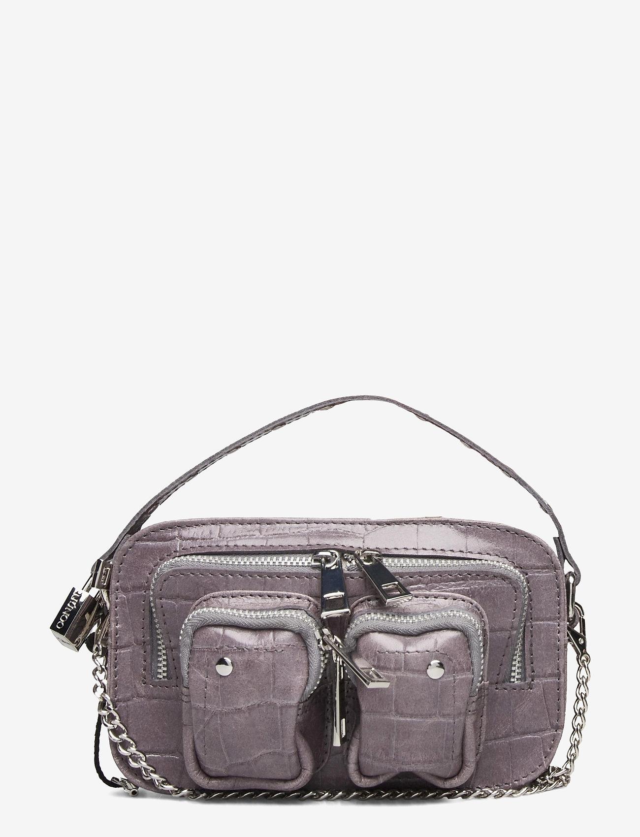 Nunoo - Helena Croco - handväskor - dark grey - 0