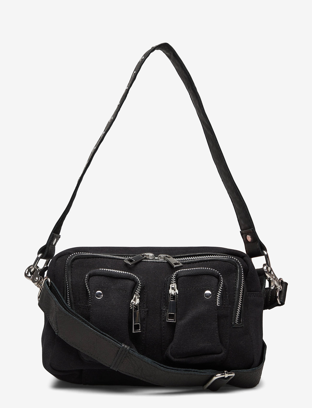 Nunoo - Ellie Recycled Canvas - väskor - black - 0