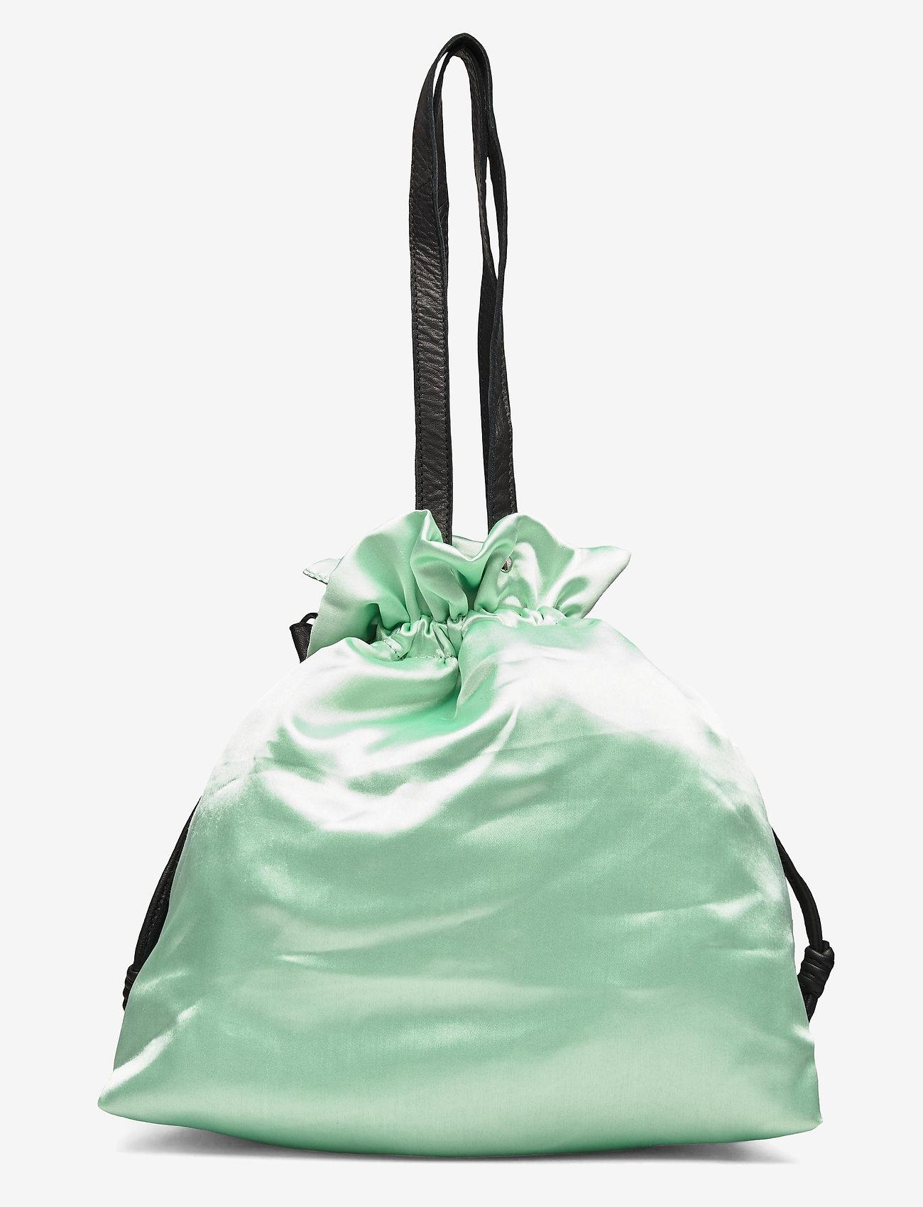 Nunoo - Cindy satin - bucket bags - mint - 1