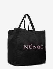 Nunoo - Big Tote Recycled Canvas - tote bags - black - 2