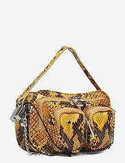 Nunoo - Helena Snake Deluxe - handväskor - yellow - 2