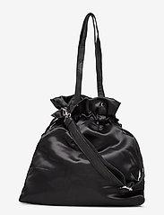 Nunoo - Cindy satin - bucket bags - black - 0