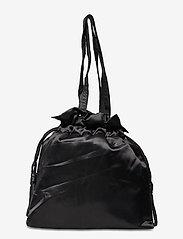 Nunoo - Mini cindy satin - bucket bags - black - 1