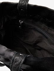 Nunoo - Mini cindy satin - bucket bags - black - 3