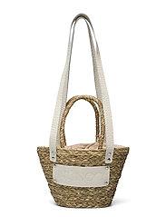 Small Beach Bag - BEIGE