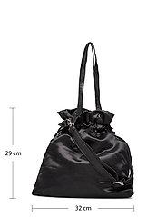 Nunoo - Cindy satin - bucket bags - black - 4