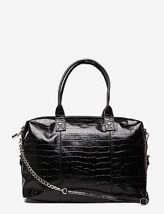 Bobby Croco - handväskor - black