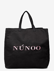 Big Tote Recycled Canvas - tote bags - black
