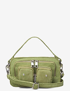 Helena new suede - handbags - matcha