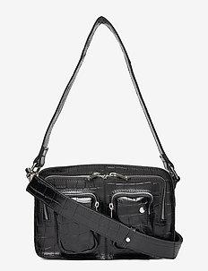Ellie - top handle - croco black
