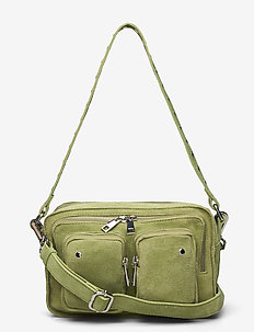 Ellie new suede - handbags - matcha