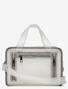 Donna vegan - top handle tasker - colorless