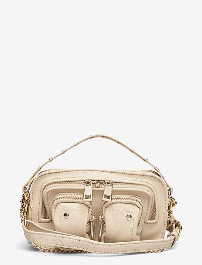 Helena Silky w. gold - handväskor - beige