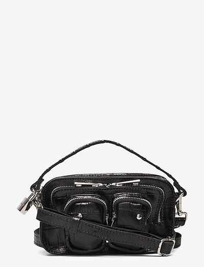 Helena Croco - handväskor - black