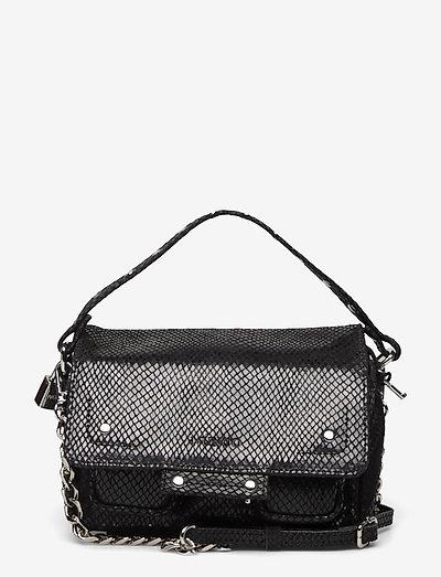 Small Honey Snake - handväskor - black