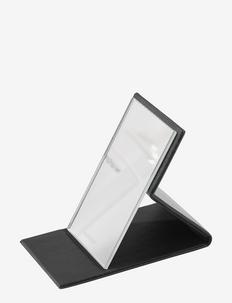 Hideaway Mirror - Black - baderomsspeil - black