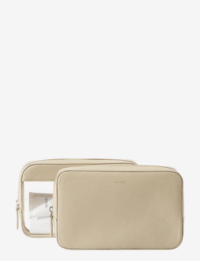 Sideway Travel Case Set - Neutral - necessärer - neutral