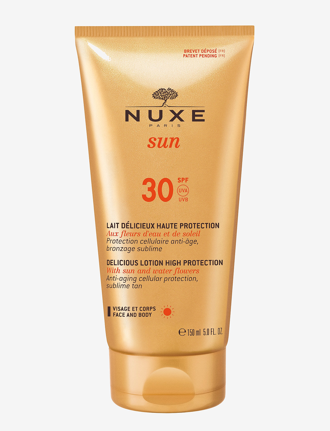 NUXE - Delicious face & body creme SPF30 - kropspleie - clear - 0