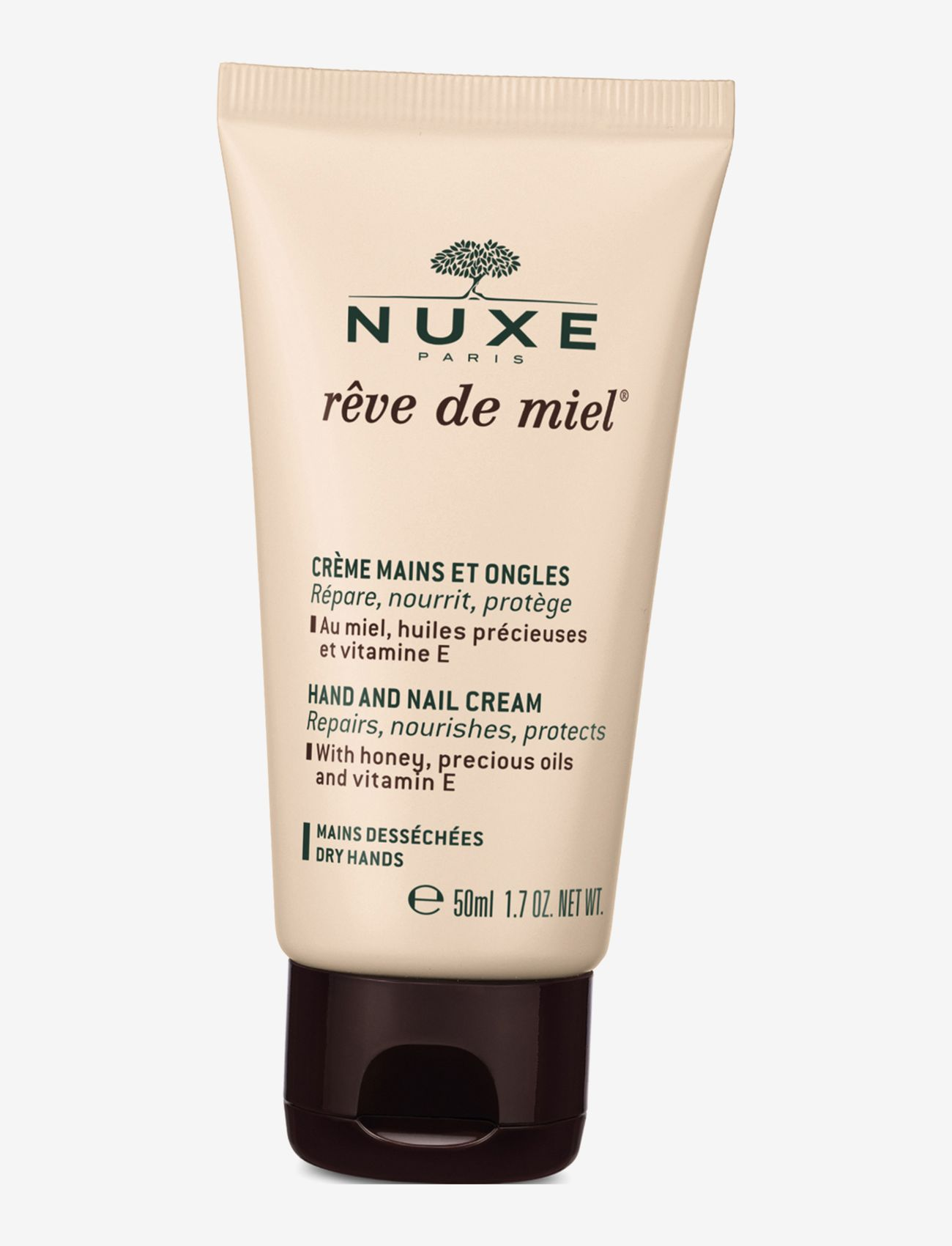 NUXE - CREME MAINS ET ONGLES - käsivoide ja jalkavoide - clear - 0