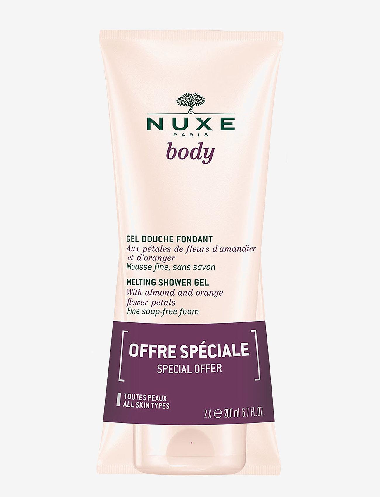 NUXE - NUXE BODY SHOWERGEL DUOPACK 2 X 200 ML - suihkugeeli - clear - 0