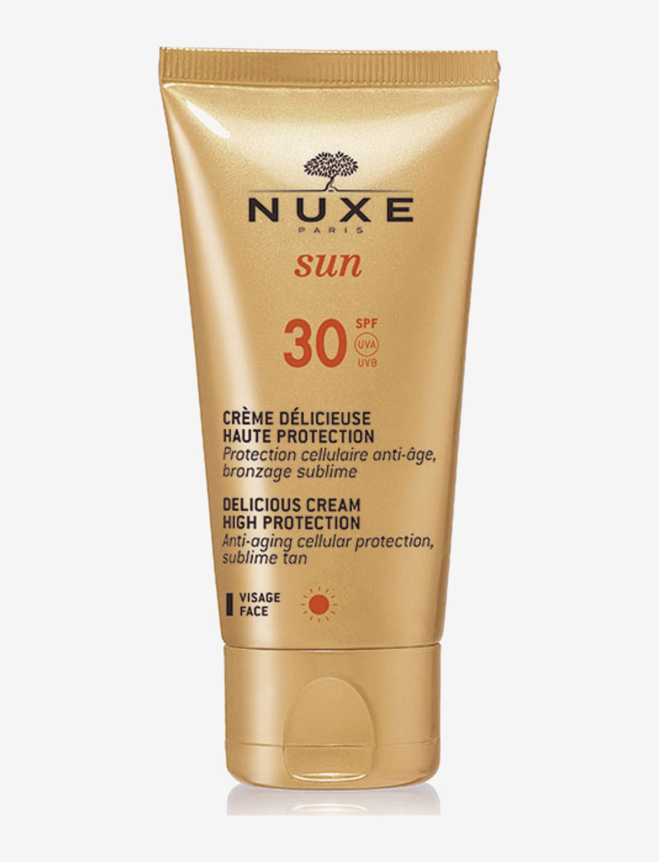 NUXE - DELICIOUS CREAM FOR FACE SPF30 - ansikt - clear - 0