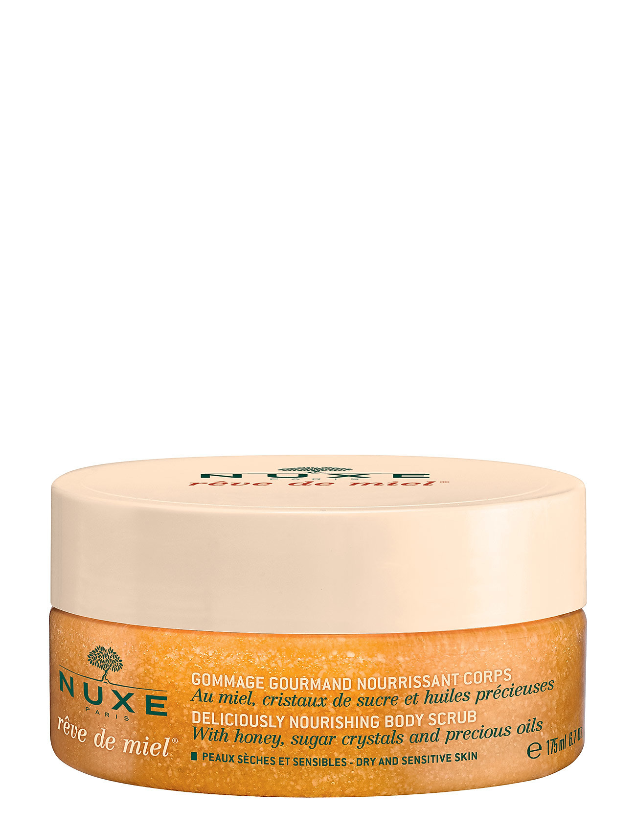 NUXE Rêve de miel Bodyscrub 175 ml - CLEAR