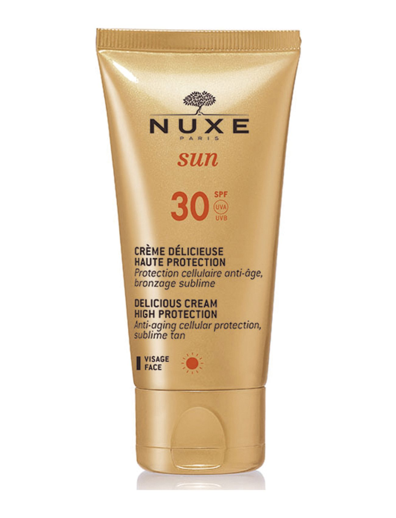 Image of Delicious Cream For Face Spf30 Beauty MEN Skin Care Sun Products Face Nude NUXE (3041219151)