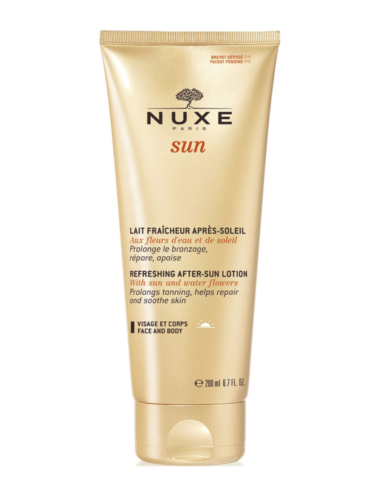 Image of Refreshing After-Sun Milk Beauty MEN Skin Care Sun Products Nude NUXE (3232944719)