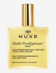 NUXE - HUILE PRODIGIEUSE RICHE - kropsolier - clear - 0