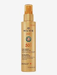 NUXE - SUN FACE & BODY MILK SPF50 - kropspleie - clear - 0
