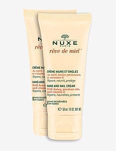 RÊVE DE MIEL HAND&NAIL DUOPACK 2X50 ML - CLEAR