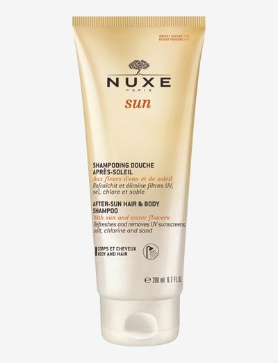NUXE SUN AFTER-SUN HAIR & BODY SHAMPOO - aftersun - clear