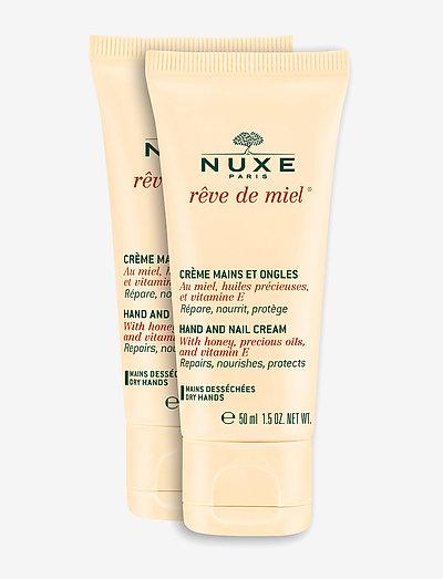 RÊVE DE MIEL HAND&NAIL DUOPACK 2X50 ML - håndcreme & fodcreme - clear