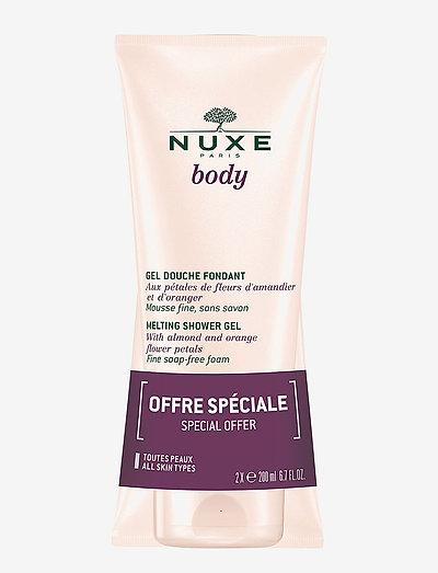 NUXE BODY SHOWERGEL DUOPACK 2 X 200 ML - shower gel - clear