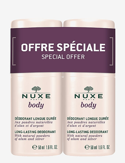 NUXE BODY DEO DUOPACK 2X50 ML - deodorant - clear