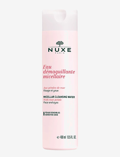 ROSE PETALS MICELLAR CLEANSING WATER  400 ML - kasvovesi - clear