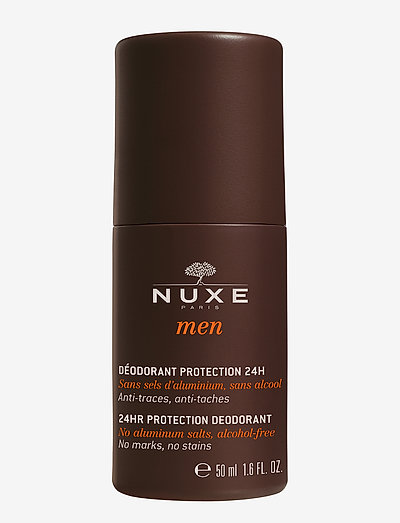 NUXE MEN 24HR PROTECT DEO - deo roll-on - clear