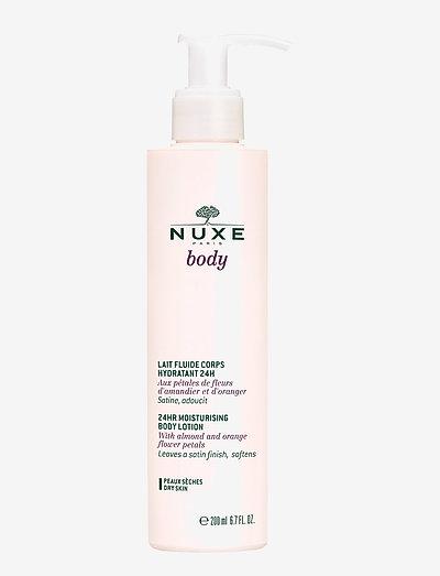 MOISTURIZING BODY LOTION 24H - body lotion - clear