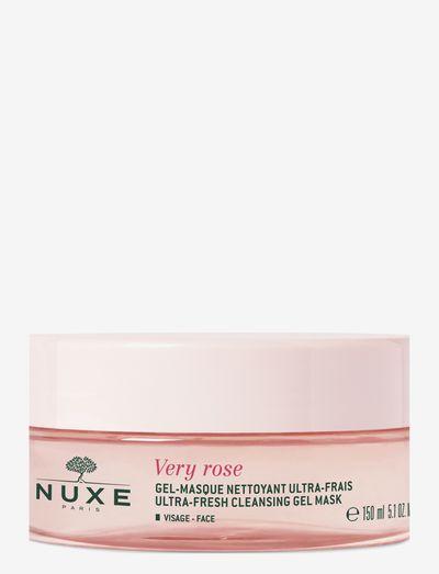 VERY ROSE CLEANSING GEL MASK - ansiktsmasker - clear