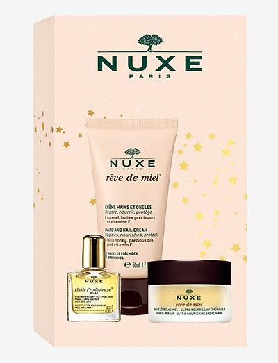 NUXE SET LUX JUL 2020 - kroppsvårdsset - clear