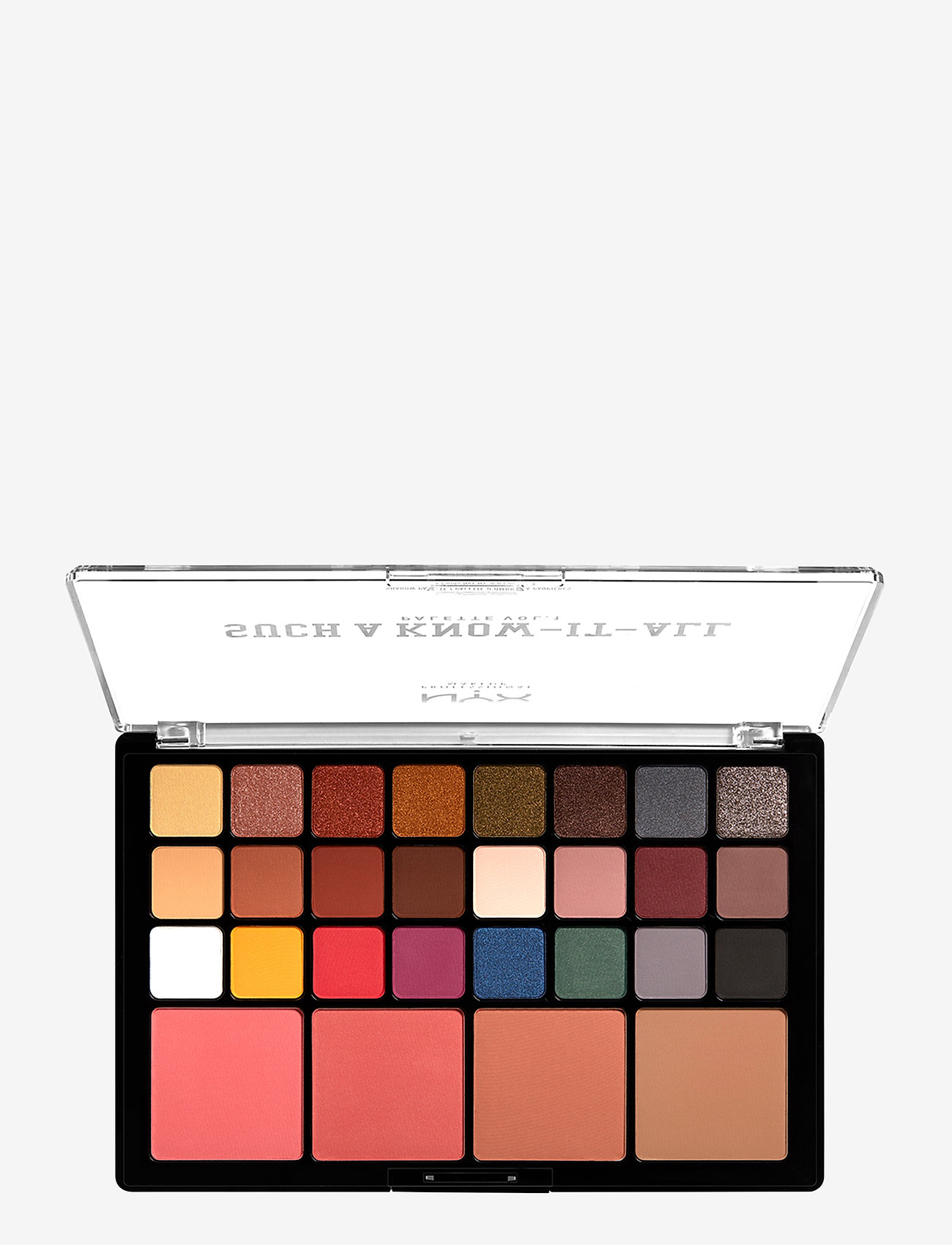 NYX PROFESSIONAL MAKEUP - Such A Know It Shadow Palette - Ögonskuggspalett - multi-colored - 0