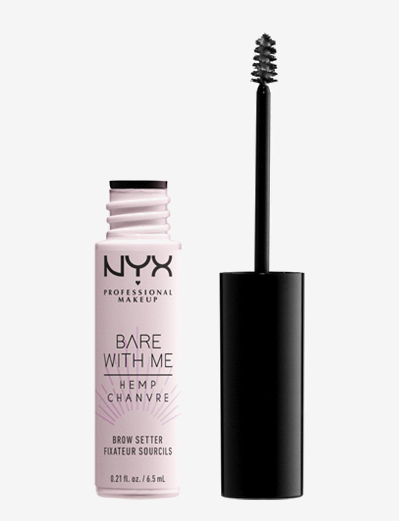NYX PROFESSIONAL MAKEUP - Bare With Me Hemp Brow Setter - Øjenbrynsgel - no colour - 0