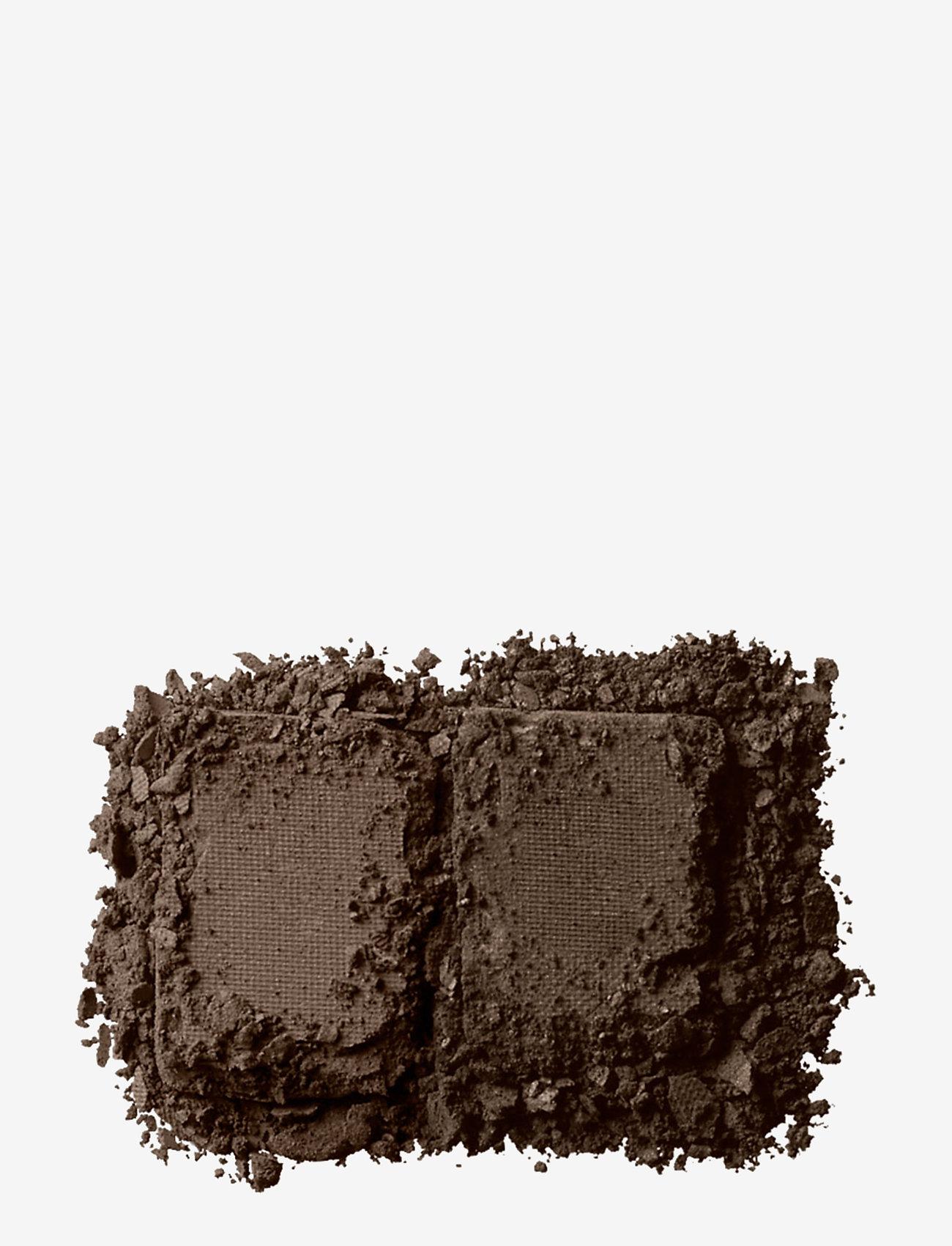 NYX PROFESSIONAL MAKEUP - EYEBROW CAKE POWDER - Øyebrynsskygge - dark brown/ brown - 1