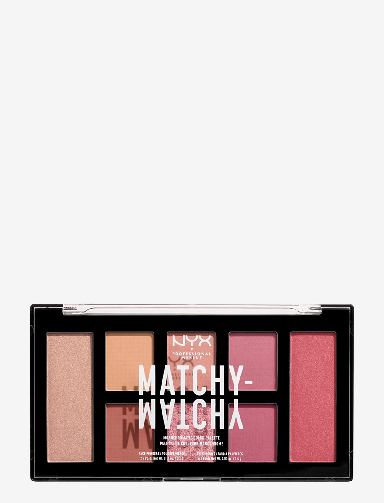 NYX PROFESSIONAL MAKEUP - Matchy Matchy Monochromatic Color Palette - Ögonskuggspalett - melon - 0