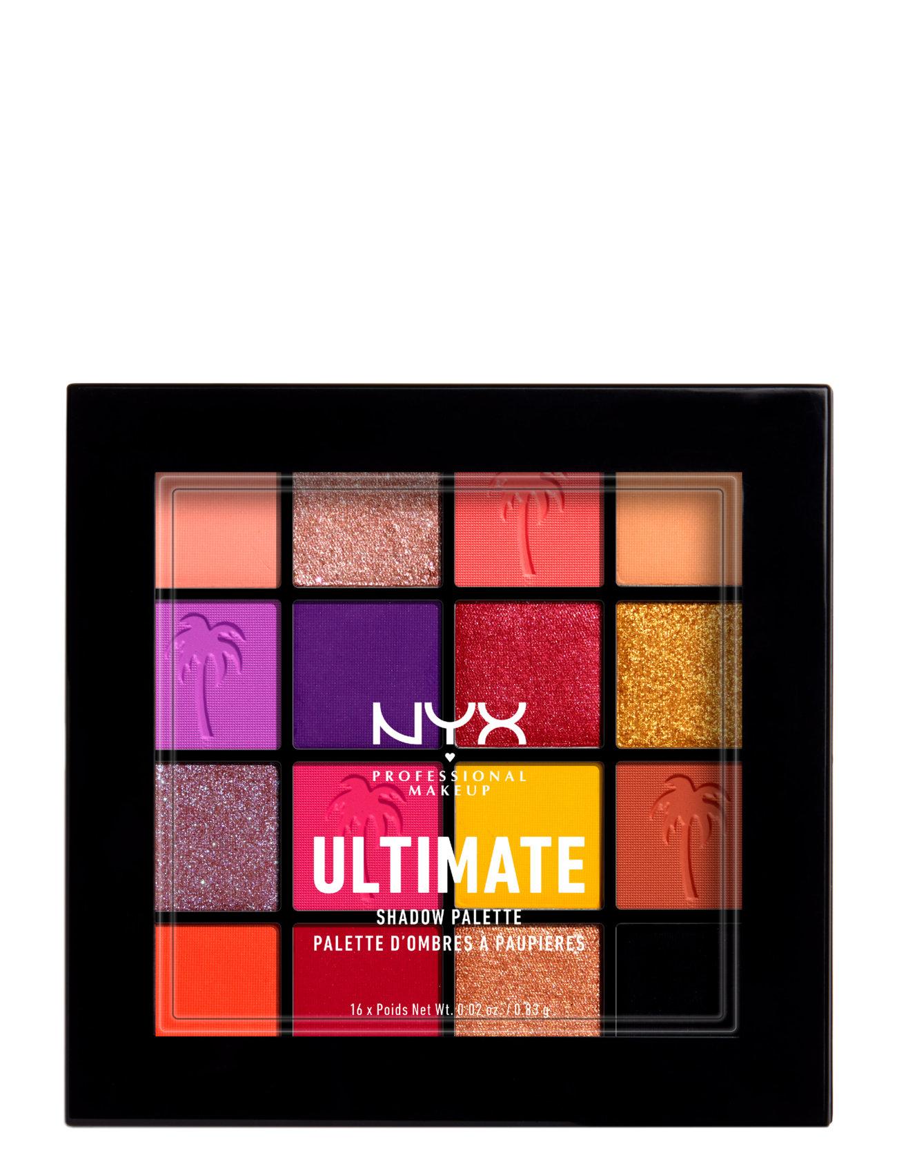 Ultimate Shadow Palette Beauty WOMEN Makeup Eyes Eyeshadow Palettes Multi/mønstret NYX PROFESSIONAL MAKEUP