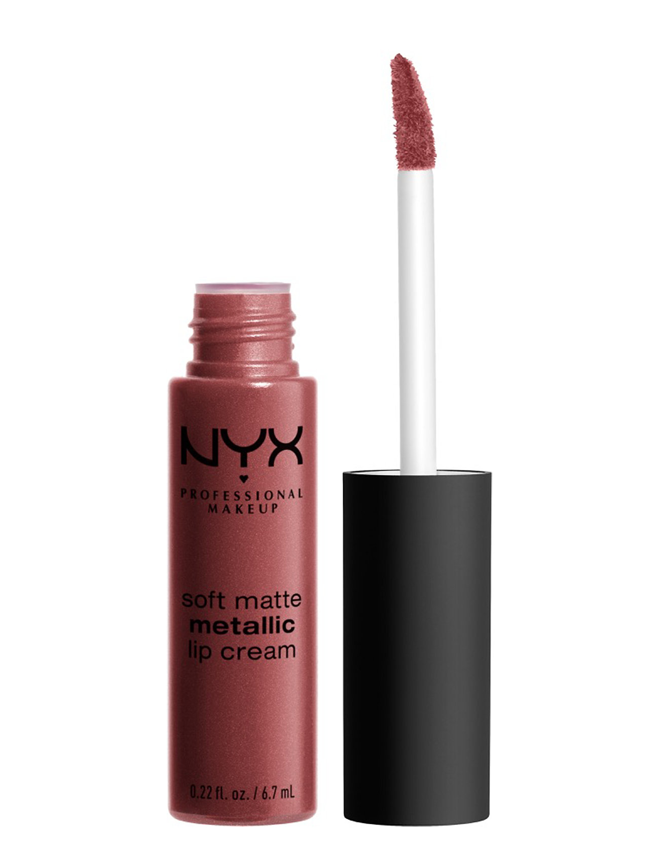 Image of Soft Matte Metallic Lip Cream Læbestift Makeup Rød NYX PROFESSIONAL MAKEUP (3158632771)