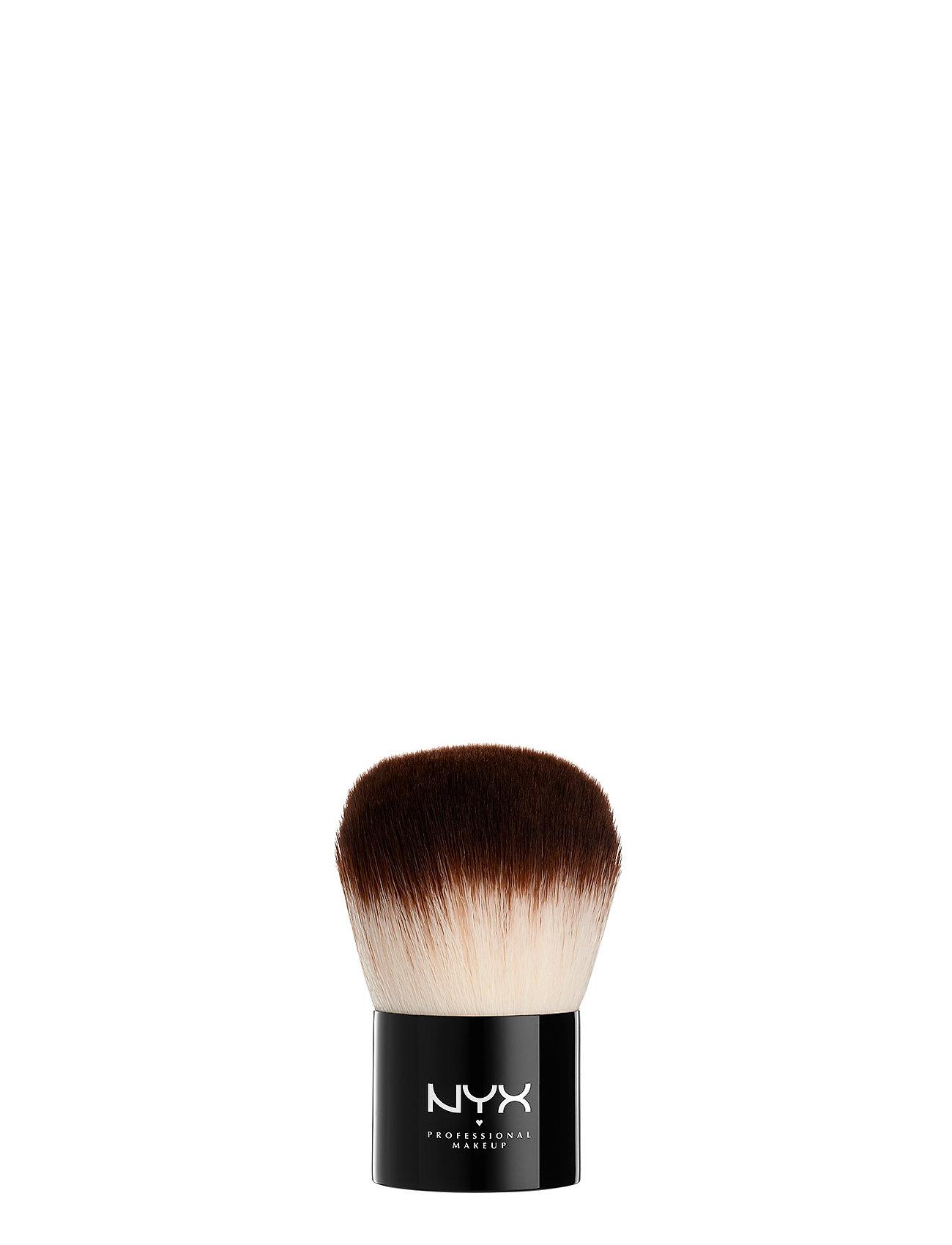 Image of Pro Kabuki Brush Beauty WOMEN Makeup Makeup Brushes Face Brushes Nude NYX PROFESSIONAL MAKEUP (3416948409)